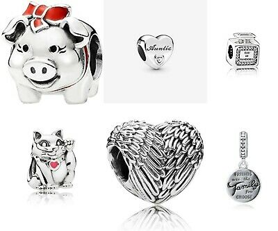 Genuine Pandora Charms Sale S925Ale Sterling Silver Charm Mothers Day Gift