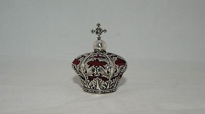 Sterling Silver Crown Pin Cushion