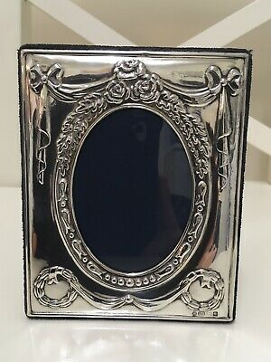 Stunning Solid Silver Photo Frame by Carr's of Sheffield