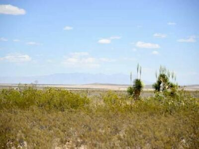 Sierra Blanca, Texas Ten Acre Lot Warranty Deed W/Roads & Views