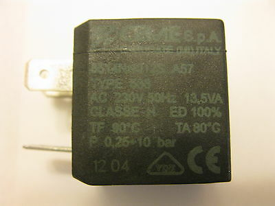 CEME A57 588 solenoid coil type H 230V 50Hz seat ø 10mm fit SATURN MAGNETIC SM7
