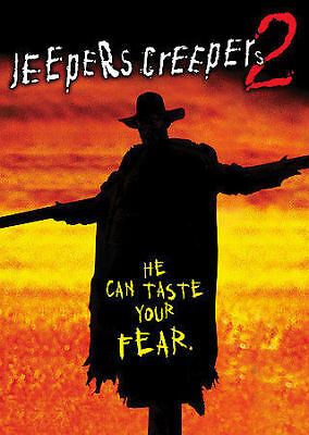 Jeepers Creepers 2 (DVD, 2007, Canadian Special Edition Lenticular) DISC IS MINT
