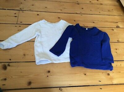 m&s twin top long sleeve 12-18 months ideal for winter
