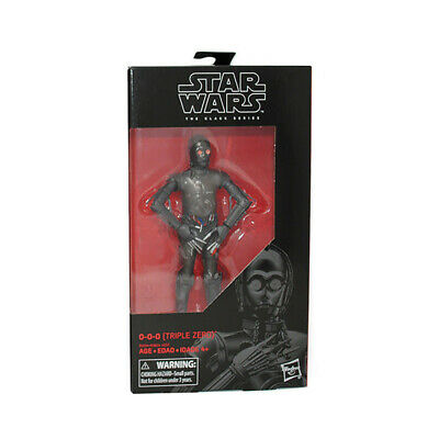 Star Wars The Black Series 6-Inch Action Figure Wave 21: 0-0-0 (Triple Zero)