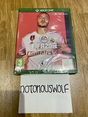 FIFA 20 XBOX ONE - BRAND NEW SEALED - RM Fast Signed For Post