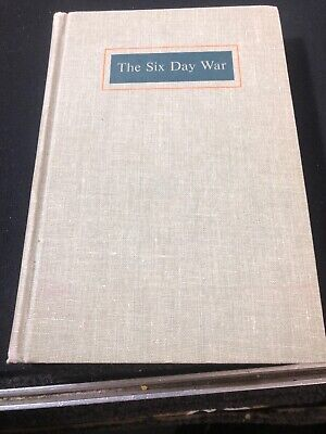 The Six Day War Winston Churchill 1967 HC First Printing