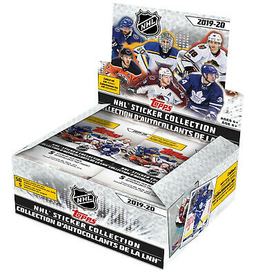 2019-20 Topps NHL Hockey Sticker Collection Box New/Sealed NOW SHIPPING