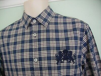 New Joules Burghley Three Day Event Stamford Checked Shirt Xs/S Horse Trials/14