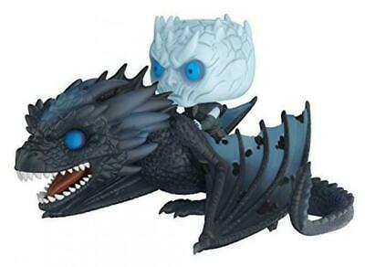 Funko Pop! Rides: Game of Thrones - Night King On Dragon Collectible blue