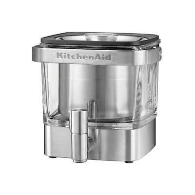 KitchenAid KCM4212SX Cold Brew Coffee Maker, Brushed Stainless Steel 28 ounce