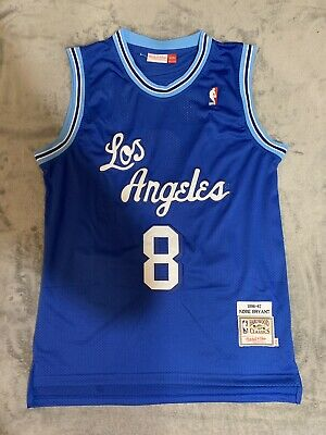 Kobe Bryant #8 Los Angeles Lakers Blue Jersey Men
