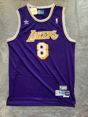 Kobe Bryant #8 Los Angeles Lakers Purple Jersey Men