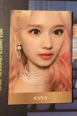 TWICE - FEEL SPECIAL - 8th Mini Album - Official Photocard Sana Mina