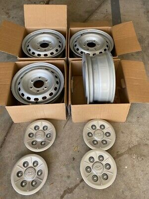 """Set of 4 Genuine Hyundai Iload or Imax 16"""" steel wheels (without tire)"""