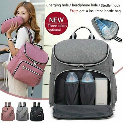 Baby Changing Bag Nappy Diaper Mummy Maternity Messenger Backpack Colour