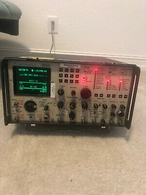 **TESTED**Motorola R-2012D/0900 Communications Systems Analyzer