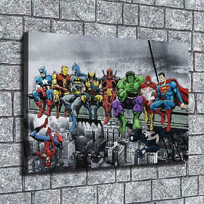 "12""x18"" Superhero character overpass HD on Canvas Home Decor Room Wall Art paint"