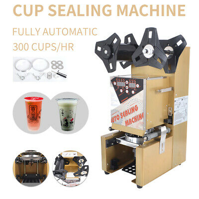 350W Cup Sealer Sealing Machine for Coffee Boba Bubble Tea,