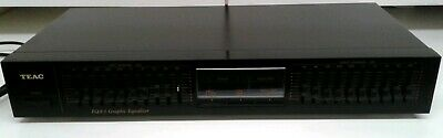 Vintage Teac Eqa-3 Stereo Graphic Equalizer