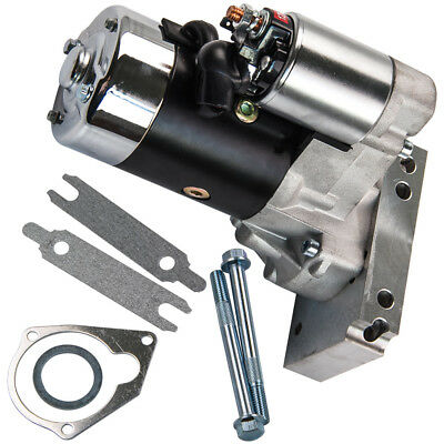 Mini Starter Motor Fits for Chevrolet Chevy 168 153 Tooth V8 SBC BBC 18493