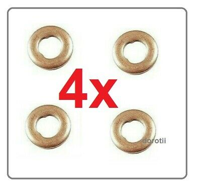 Seals x 4 Mercedes Viano CDI 2.2 VCommon Rail Diesel Injector Washers