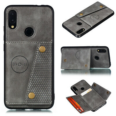 For Xiaomi Redmi Note 8 7 Pro 8A Luxury PU Leather Wallet Card Stand Cover Case