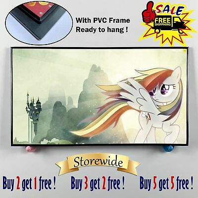 """12""""x22""""My Little Pony PVC HD Canvas prints Painting Home decor Picture Wall art"""
