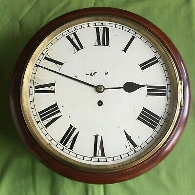 "A English Fusee 12"" Dial Clock"