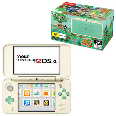 New Nintendo 2DS XL Animal Crossing Edition Console NEW