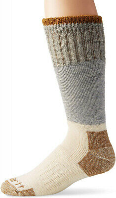 Carhartt Men's Extremes Arctic Wool Boot Socks Shoe Size: 11-15, Grey