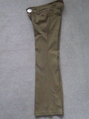 ZARA Trousers Girls Age14 from 2006ish Cotton/elastene PERFECT CONDITION  Brown