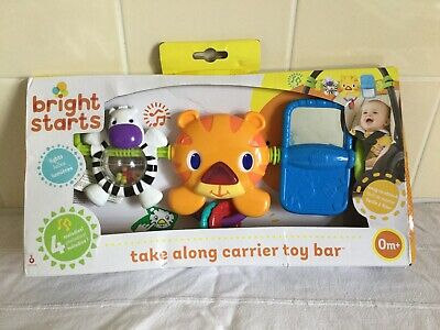 Bright Stars Toy Bar VGC Prom/cot/bouncer sounds & lights