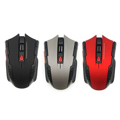 2.4Ghz Wireless Mouse With Usb Receiver For Pc Gaming Optical Mouse Without D3B9