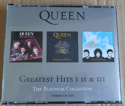 Queen Greatest Hits 1 2 And 3 ,Three Cd Set, The Platinum Collection.