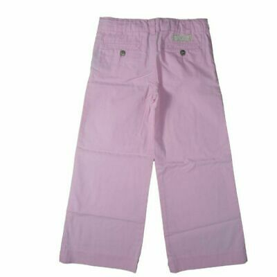 Ralph Lauren Kinder Mädchen Sommer Hose rosa Flair Kids Girl Pants 110