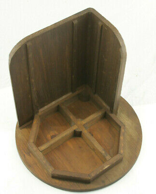 """Lamson Industrial Foundry Wood ~15"""" Machine Part Mold Pattern"""