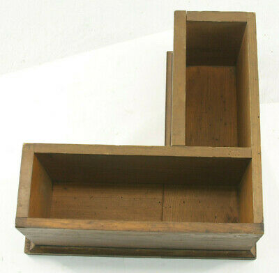"""Lamson Industrial Foundry Wood ~17"""" Machine Part Mold Pattern M114C"""