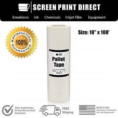 """Ecotex® Pallet Tape For Screen Printing - 18"""" x 100'"""