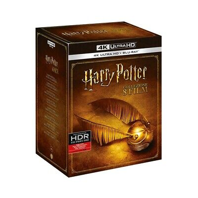 Harry Potter 1-8 Film Collection 4K UHD  Blu-Ray