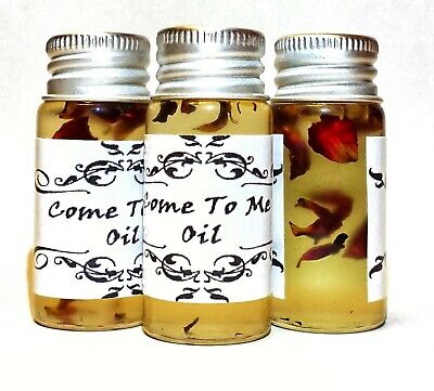 Come To Me Oil - attraction, romance, love, desire, passion hoodoo voodoo witch