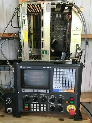 Allen Bradley 9 Series CNC Controller Used For Training With Siemens I/O Module