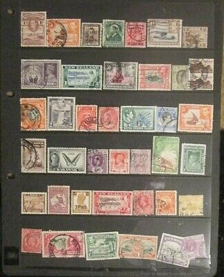 BRITISH EMPIRE  QV.-KGVI mixed mint and used lot 9