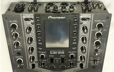 Pioneer Djm-909 Two Channel Touch Screen Scratch Mixer Excellent Please Read