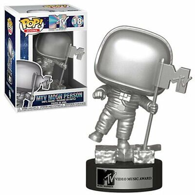 MTV Moon Person POP Vinyl Figure #18 Funko Classic Icon New
