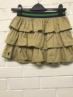 W27. Ralph Lauren Beige Skirt Girls Age 12