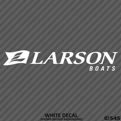 Larson Boats Car/Truck Decal Outdoors Sports & Boating - Choose Color