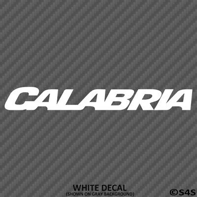Calabria Boats Car/Truck Decal Outdoors Sports & Boating - Choose Color/Size