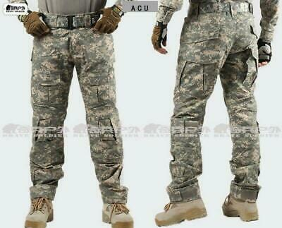Men's Airsoft Cargo Camouflage Outdoor Pants Tactical Military Hunting Trousers