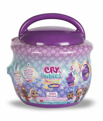 Casetta Ciuccio Cry Babies Magic Tears Fantasy Bambole in Capsula Serie Paci Hou