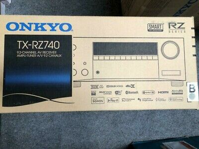 Onkyo TX-RZ740 9.2-Channel Network AV Receiver Brand New with Free Shipping!